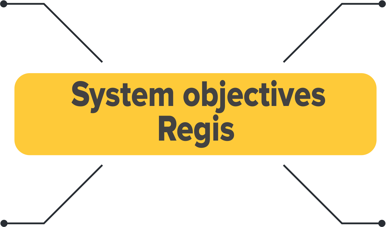 System objectives GPS control system